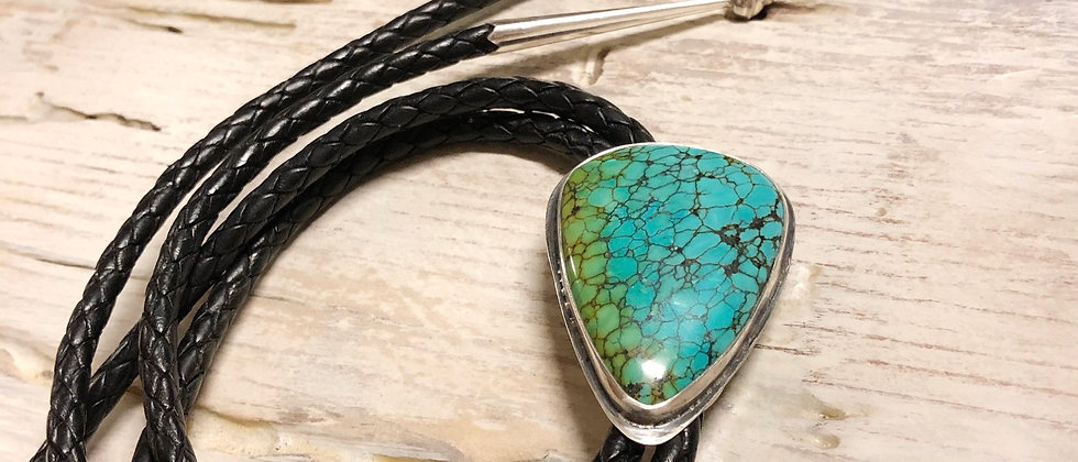 Natural Turquoise Statement Bolo