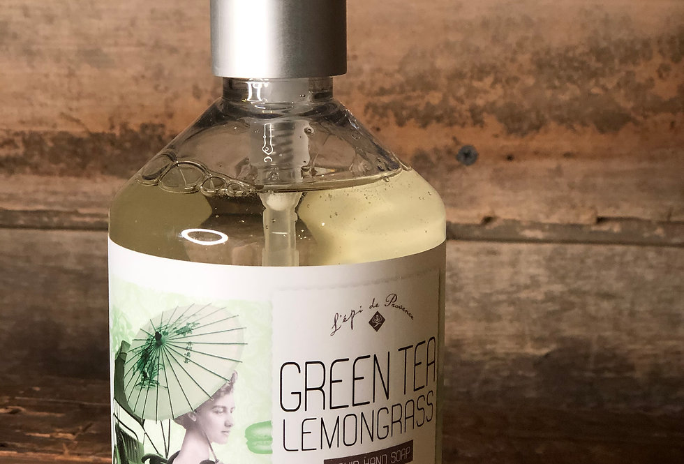 Green Tea Lemongrass Liquid Hand Soap