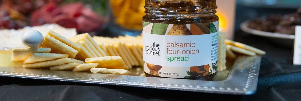 Balsamic Four-Onion Spread