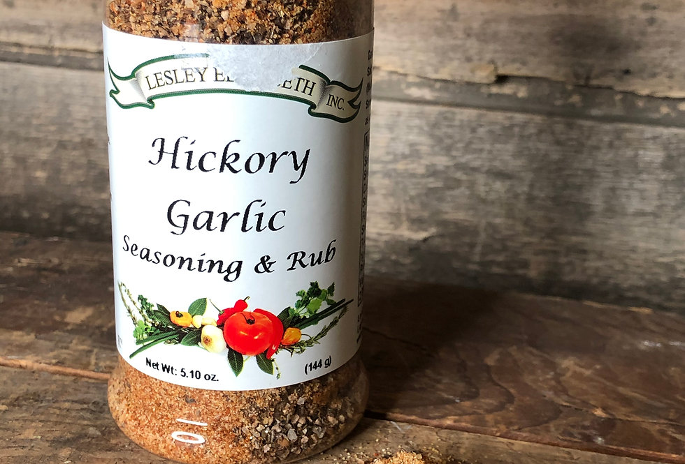 Hickory & Garlic Seasoning & Rub