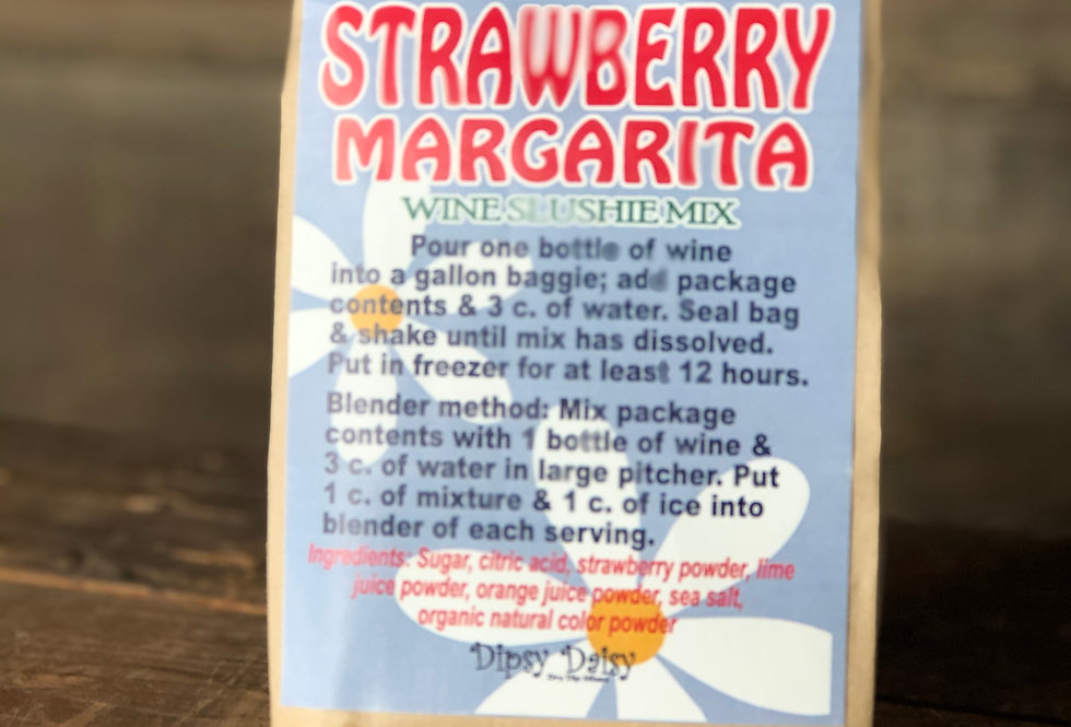Strawberry Margarita Wine Slush Mix