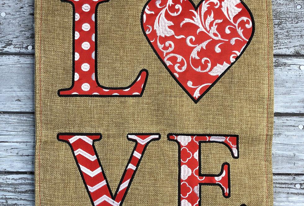 Love Garden Flag