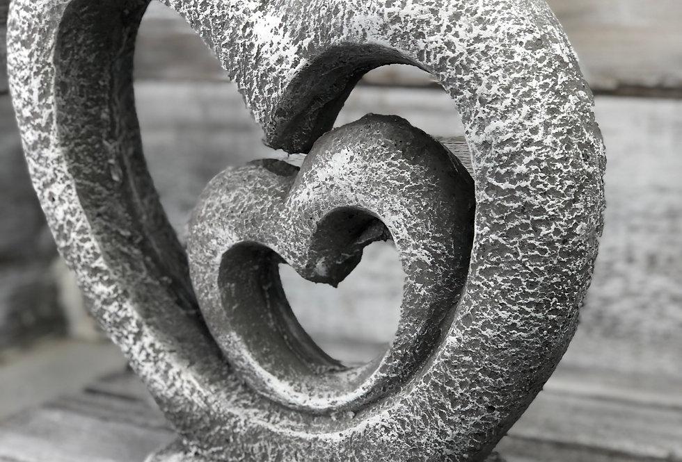 Double Heart Stone