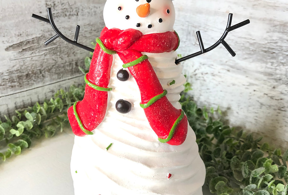 Snowman Tabletop Figurine