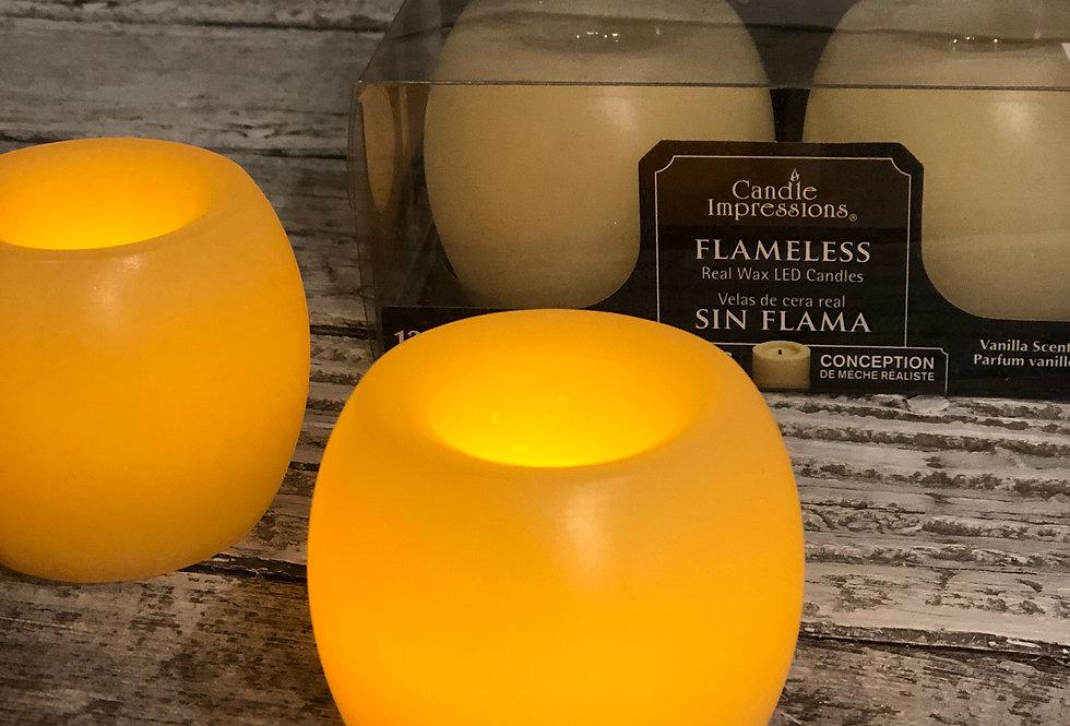 Mini Flameless Hurricane Candles