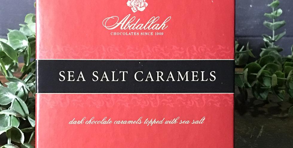 Sea Salt Caramels with Dark Chocolate