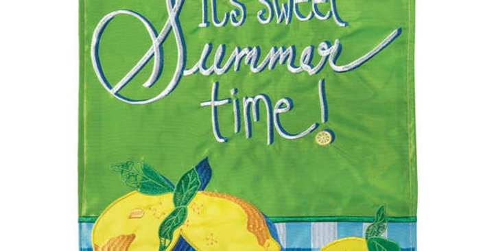 It's Sweet Summer Time! Garden Flag