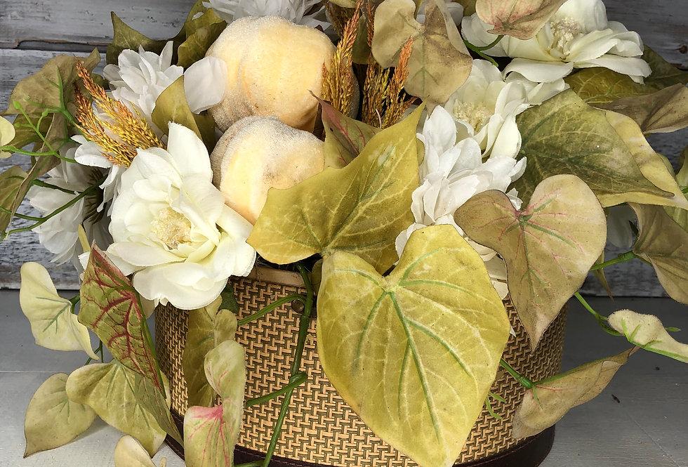 Autumn Hat Box Arrangement
