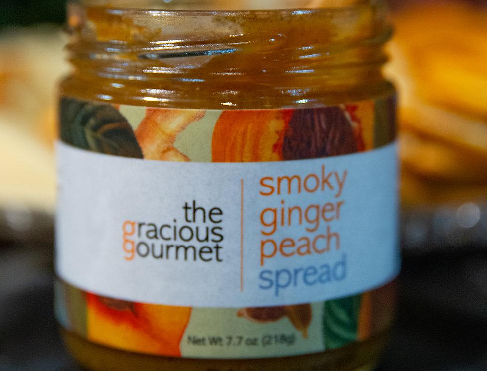 Smoky Ginger Peach Spread