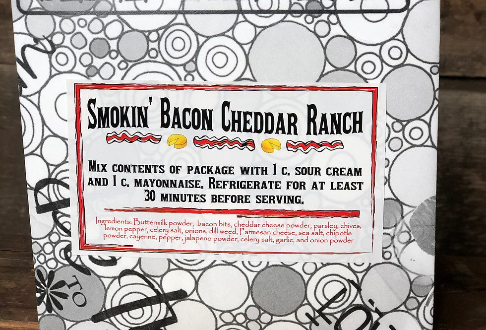 Smokin' Bacon Cheddar Ranch Dip Mix