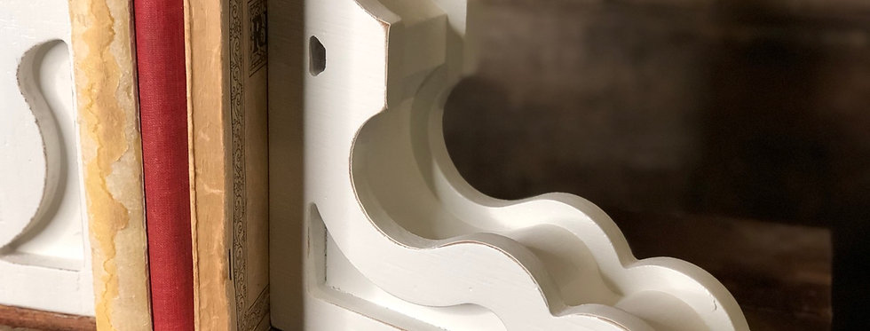 Shabby Chic Corbel Bookends
