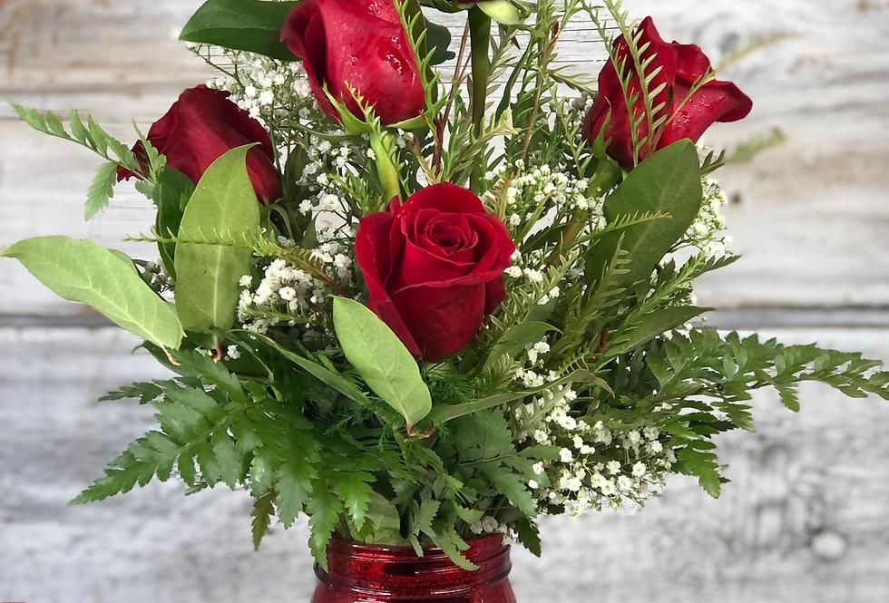 Half Dozen Roses - Standard