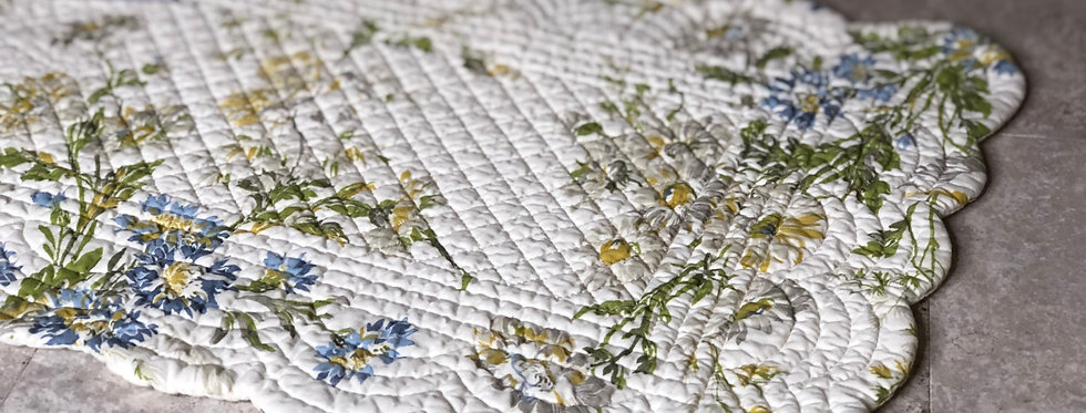 Wildflower Quilted Placemat