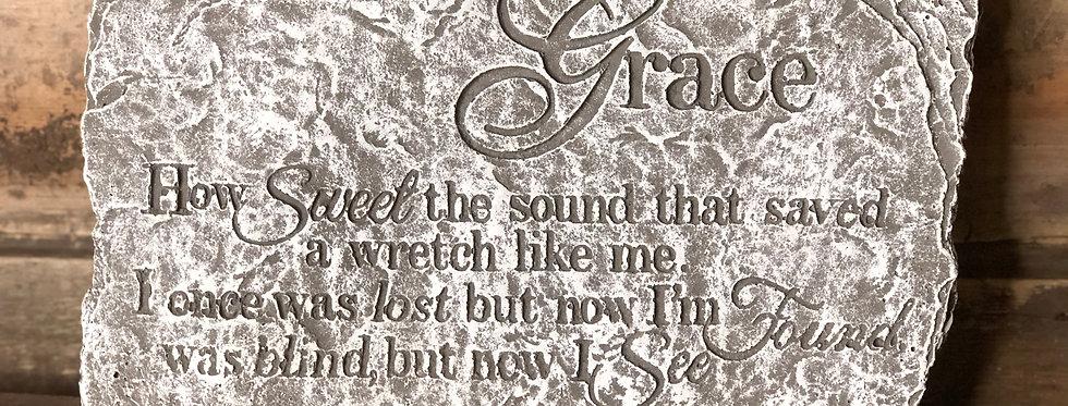 Amazing Grace - Stone Memorial