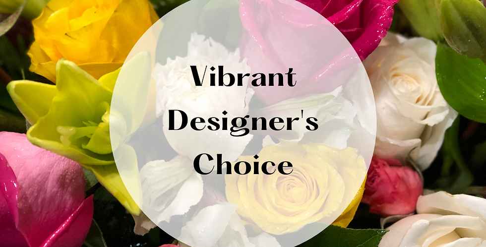 Vibrant Designer's Choice Arrangement