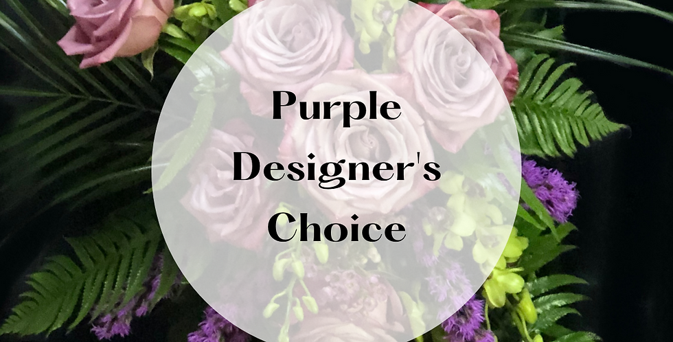 Purple Designer's Choice Bouquet