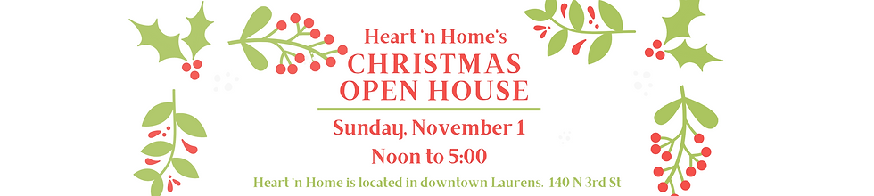 Christmas Open house_heart 'n Home_Laure