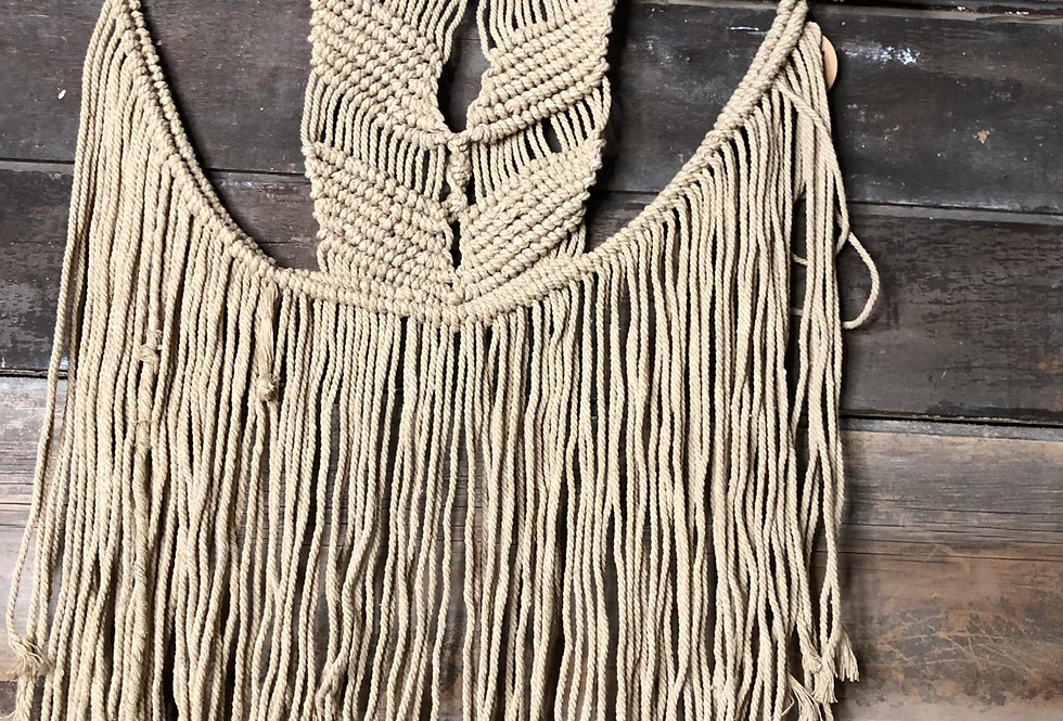 Earth Macrame Wall Hanging