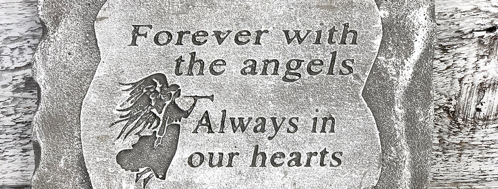 Forever With The Angels - Stone Memorial