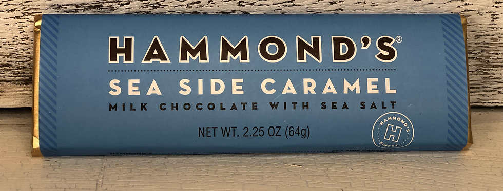 Sea Side Caramel Milk Chocolate Candy Bar