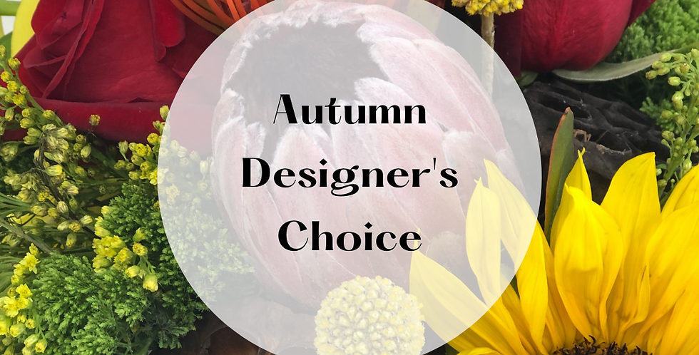 Autumn Designer's Choice Bouquet