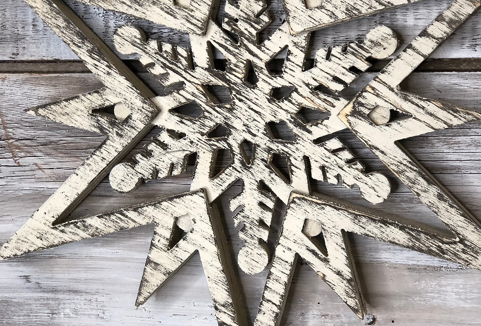 Shabby Chic Snowflake