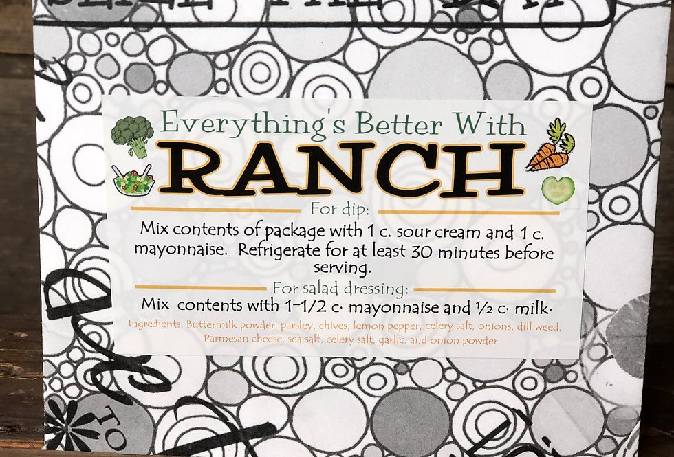 Everything's Better With Ranch Dip Mix