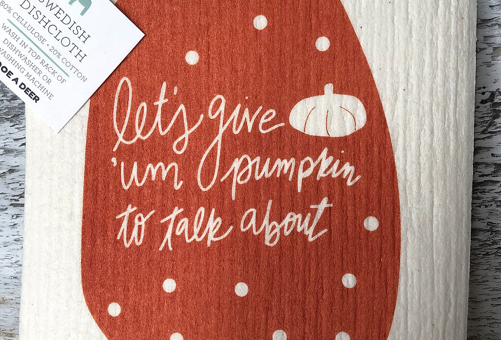 Let's Give 'Um Pumpkin To Talk About