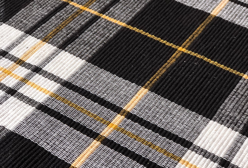 Placemat - Black, White & Gold