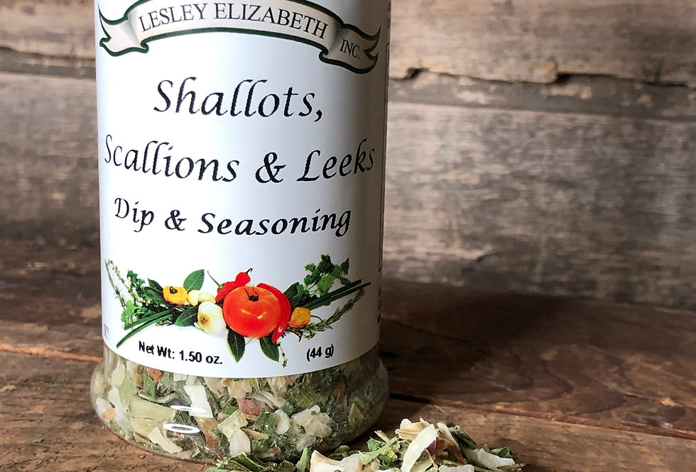 Shallots, Scallions & Leeks Seasoning & Dip Mix