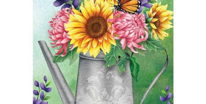 Garden Spring Bouquet Flag