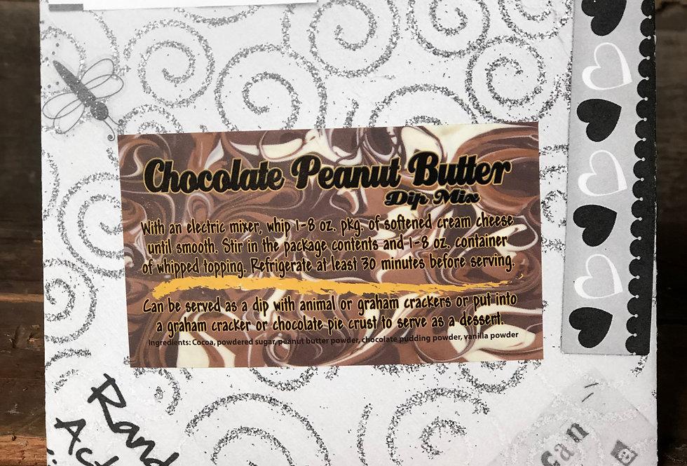 Chocolate Peanut Butter Dip Mix