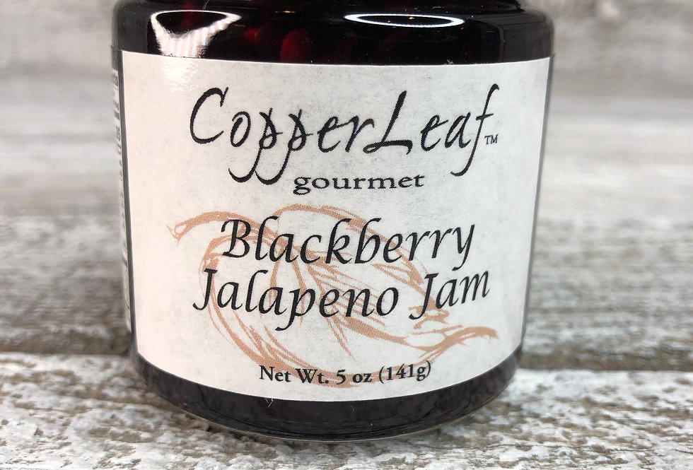 Blackberry Jalapeno Jam