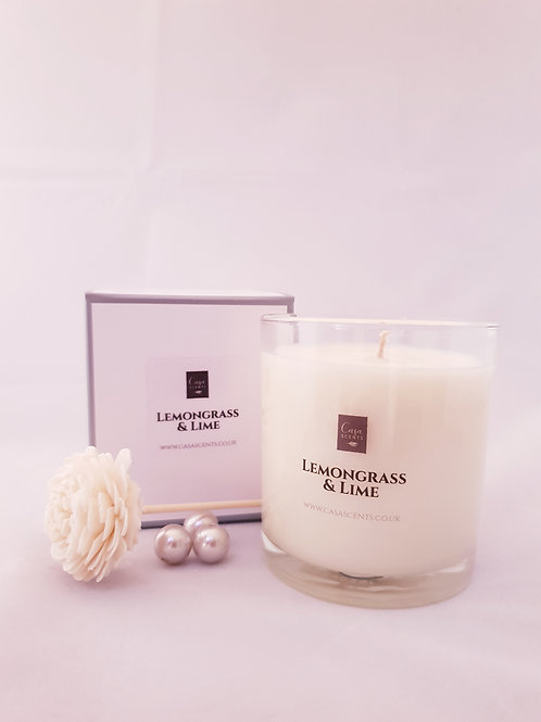 Lemongrass & Lime Natural Blend Candle
