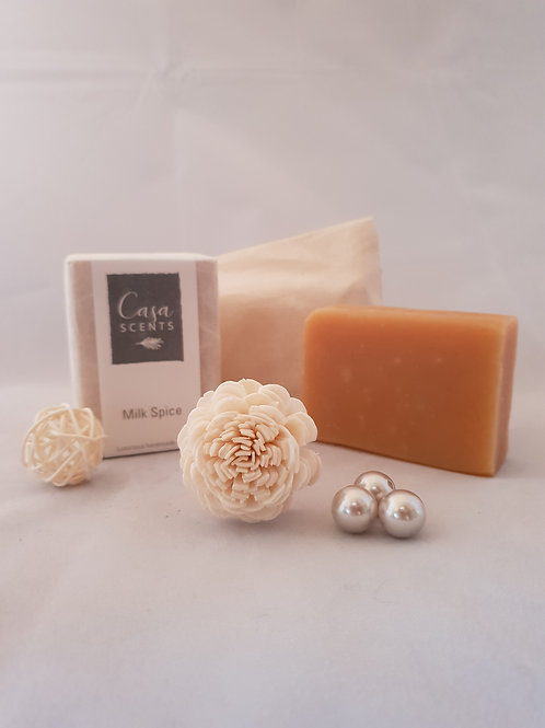 Moisturising Milk Spice Natural Soap