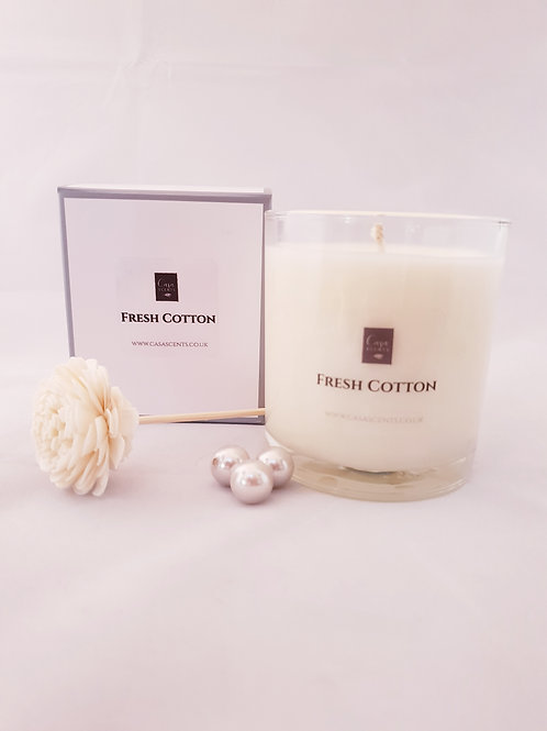 Fresh Cotton Natural Blend Candle