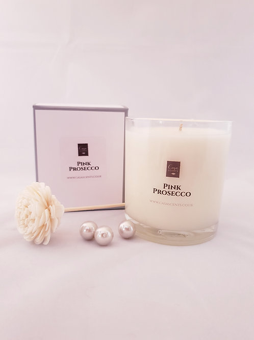 Pink Prosecco Scented Candle