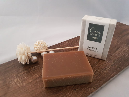Nettle and Rosemary Natural Shampoo Bar