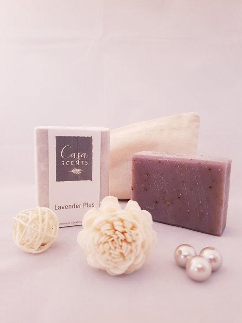 Exfoliating Lavender Plus Natural Soap