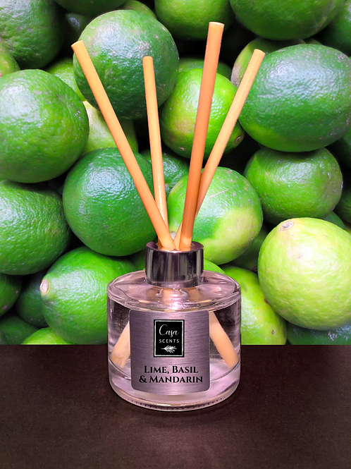 Lime, Basil & Mandarin Reed Diffuser
