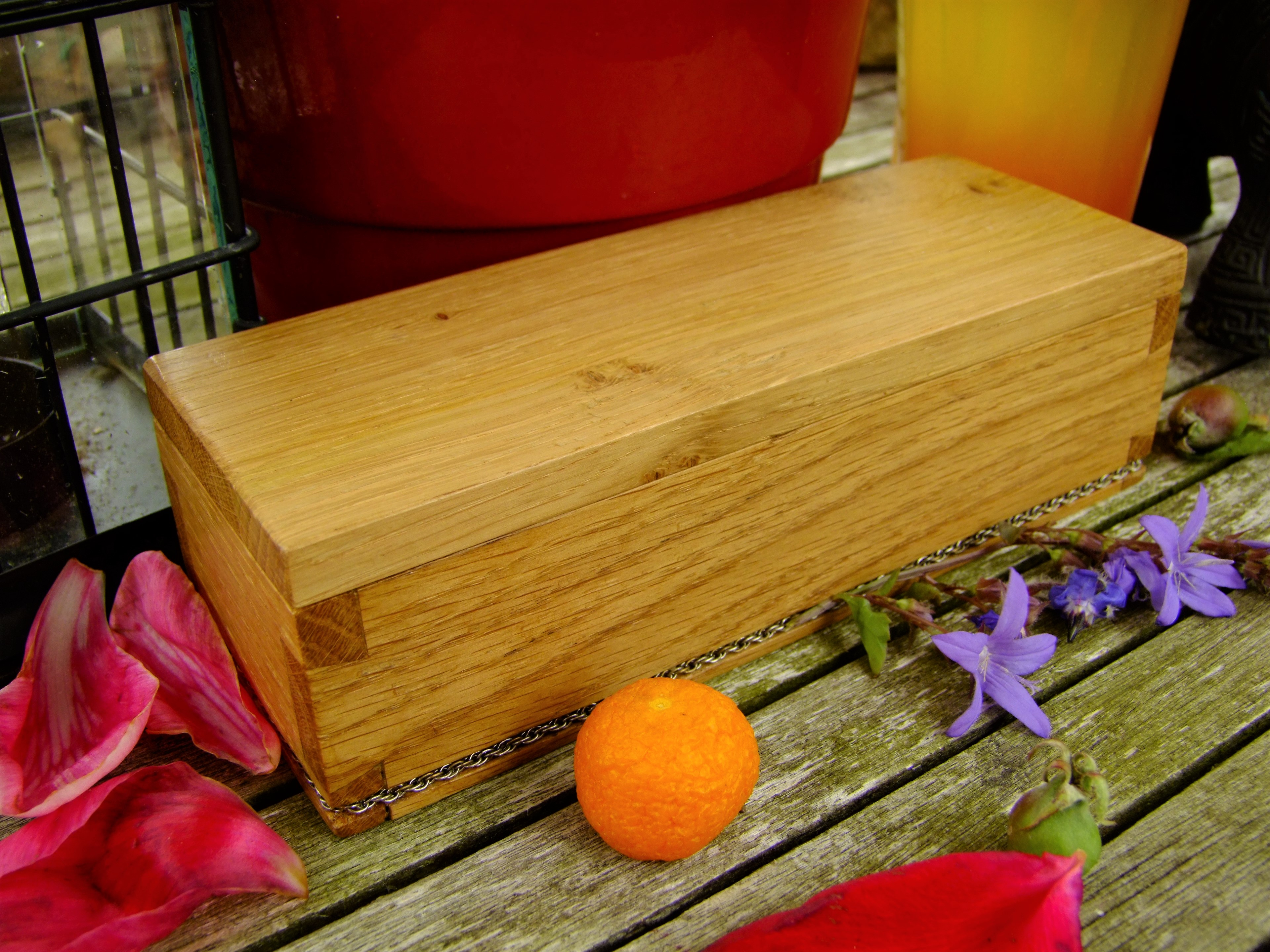 Oak Chain box