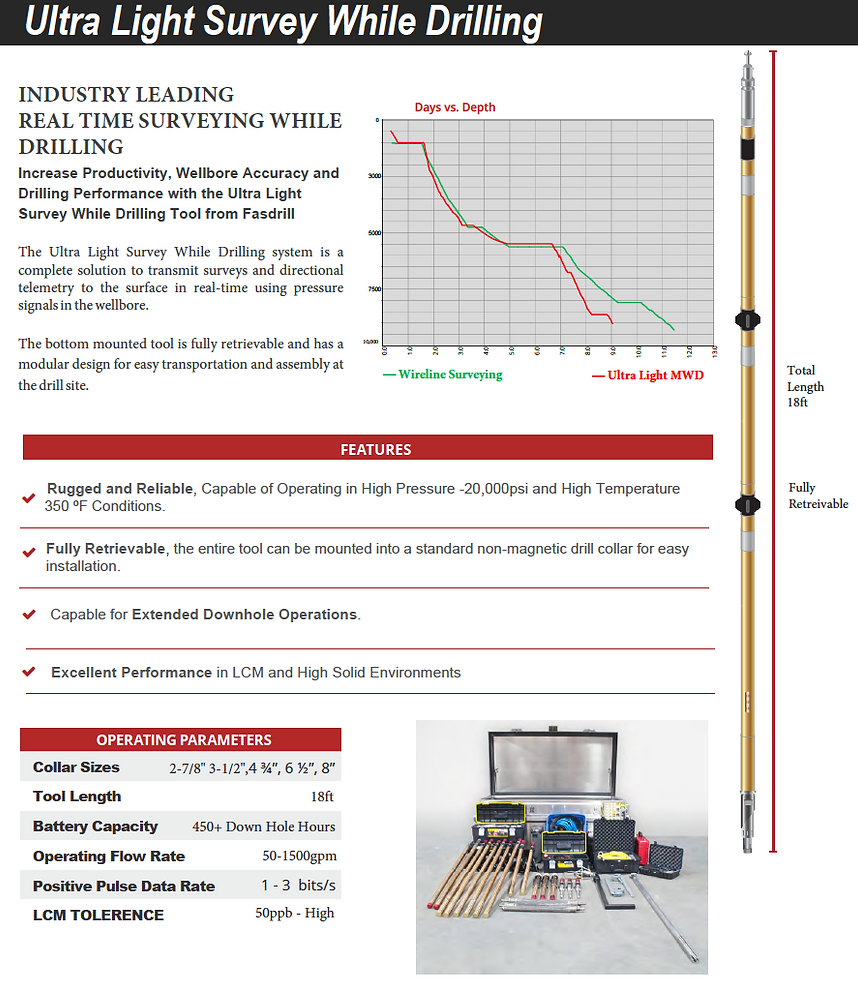 MWD SWD LWD Measurement While Drilling