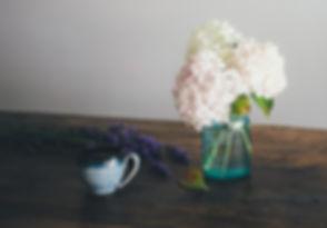 即席の花瓶