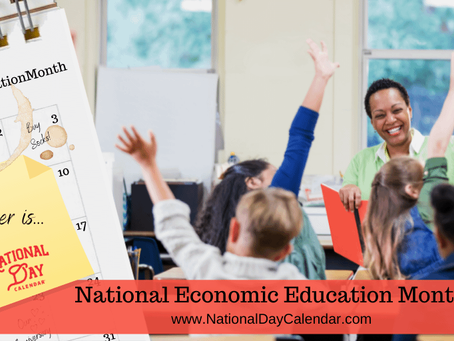 October is Economic Education Month!