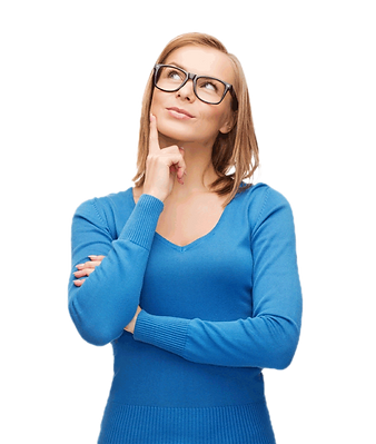 purepng.com-thinking-womanthinking-woman