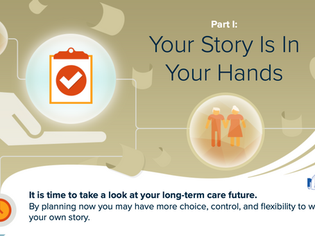 Long-term care is the extra, personal assistance you may need to help maintain your quality of life.