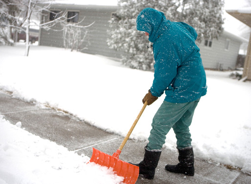 Homeowner's Duty To Keep Their Sidewalks Clear