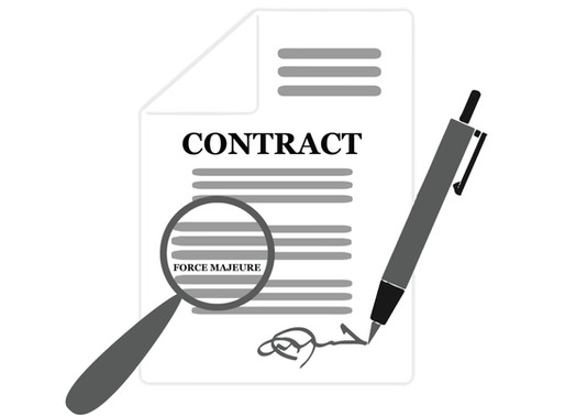 COVID-19's Impact On Contracts