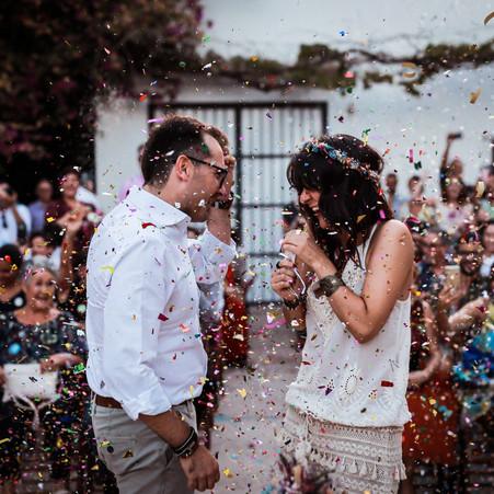 Plan de desescalada en las bodas (COVID-19)
