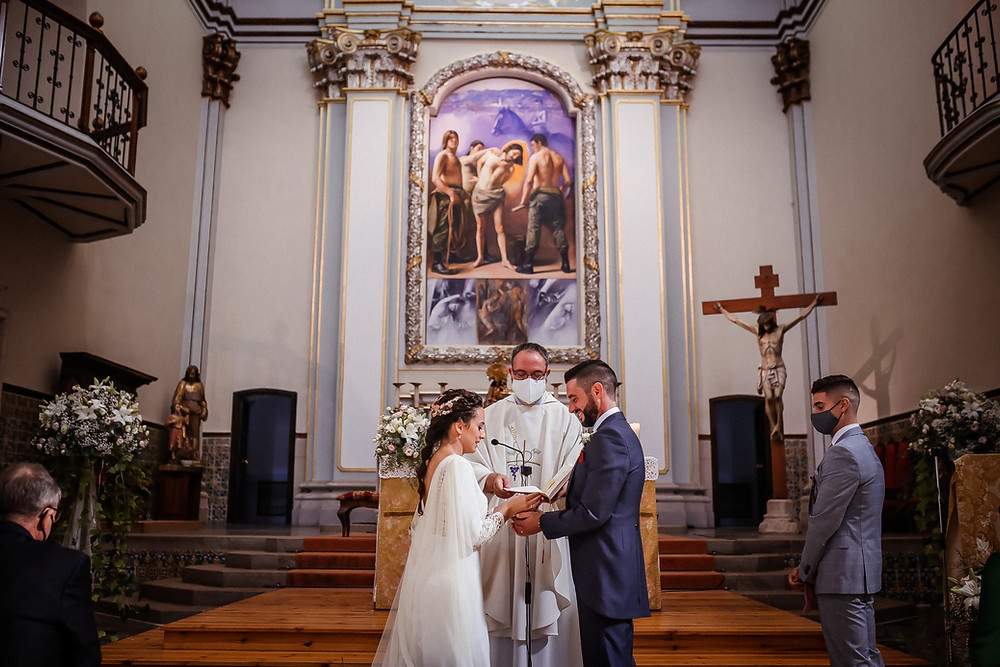 boda religiosa en iglesia